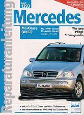 MERCEDES ML 270 400 CDI W163 1997-2004 REPARATURANLEITUNG WERKSTATTHANDBUCH NEU!