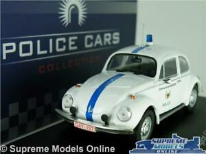 VOLKSWAGEN BEETLE 1302 POLICE MODEL CAR 1:43 SCALE IXO ATLAS 7598010 VW K8