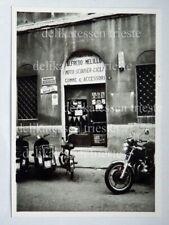 TRIESTE Via Caccia negozio MELILLO moto sccoter vespa Piaggio vecchia foto