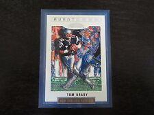 2002 Showcase # 126 Avant Tom Brady Card New England Patriots B2