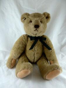 "Bialosky Gund 1982 Teddy Bear Plush 18"" Fully Jointed glass eyes Vintage Korea"