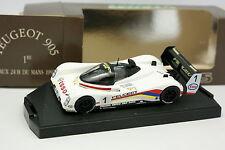 Velocidad 1/43 - Peugeot 905 N°1 Winner Le Mans 1992