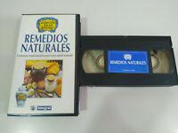 Remedios Naturales la Botica de la Abuela - VHS Cinta Tape Español - 2T