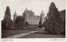 INVERARAY CASTLE - Argyllshire - Original 1911 Real Photo Postcard (HCAR)