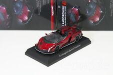 Kyosho 1/64 Lamborghini Veneno Roadster Red Minicar Collection 6 2015
