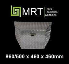 ALUMINIUM DRAWBAR TOOLBOX 865* 450* 465mm TOOL BOX TRAILER DRAW BAR MRT19