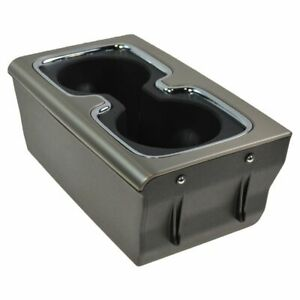 OEM 23467147 Center Console Burnish & Chrome Trim Dual Cup Holder for GM Pickup