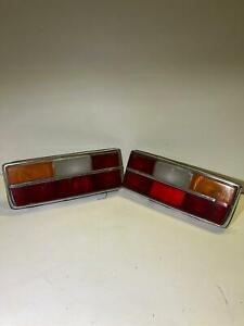 Volvo 262 coupe Bertone tail lights lens are cracked booth with defects