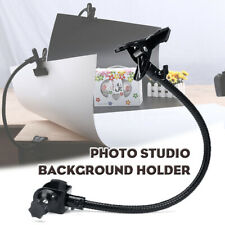 Pro Photo Studio Light Stand Background Holder C Clamp Clip Flex Arm Reflector