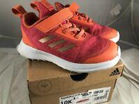 adidas Kids' RapidaRun X El Running Shoe Size 10 K
