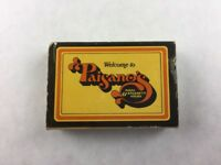 Vintage Paisano's Pizza & Spaghetti House Tualatin Oregon Slide Matchbook