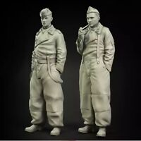 1/35 Resin Figure Model Kit German Soldiers WWII WW2 Unassambled Unpainted