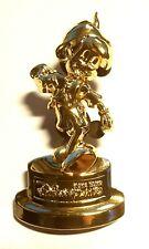 Disney Pins : Disneyland Hong Kong : Pinocchio in Gold large pin