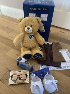 Build A Bear - Doctor Who Bear Tenth Doctor   Gift Set