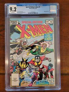 X-MEN SPECIAL EDITION #1 CGC 9. 2 COCKRUM cover & art nice case