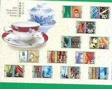HONG KONG SHEET DEFINITIVE STAMPS 2002 ** MNH