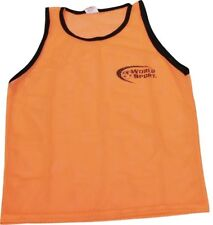 NEW 12 ADULT orange scrimmage vest bibs pinnies soccer football training