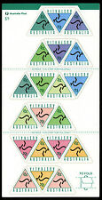 Australia 1994 Self Adhesive Cash Machine Stamp Sheet Scott # 1405a Peel & Stick