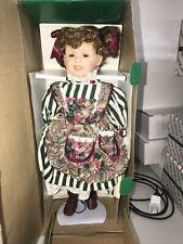 House of Lloyd Christmas Around the World Margaret Ann Porcelain Doll
