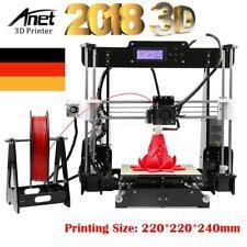 Anet STAMPANTE 3d 3d Printer 2018 modelli più recente a8 (i3) 220*220*240mm Kit