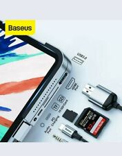 Baseus 6 in 1 USB Type C HUB to USB 3.0 HDMI 3.5mm Jack Adapter Docking Station