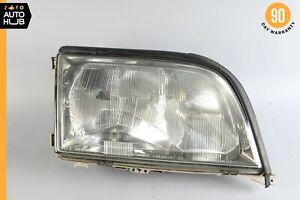 95-99 Mercedes W140 S500 S320 Right Passenger Side Headlight Lamp Halogen OEM