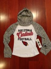 NWT Arizona Cardinals Football 'CARDINALS GIRL Hoodie Sweatshirt Sz Small 6/6X