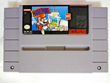 Mario Paint [Super Nintendo SNES 1992] bros. art create fun GAME ONLY - NO MOUSE