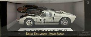 Diecast 1:18 Ford Shelby 1966 GT 40 Mk II (Gulf White) #98