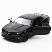 1/36 Scale Chevrolet Camaro Model Car Diecast Toy Vehicle Kids Pull Back Black