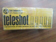 Vintage COLT Teleshot 12 gauge shotgun Shells Box EMPTY RARE ga.