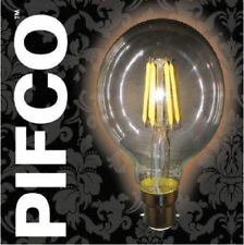 PIFCO G80 6WATT B22 BAYONET CAP LED GLOBE VINTAGE 600LM ENERGY SAVING BULBS