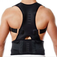 Posture Corrector Support Magnetic Back Shoulder Brace Belt For Men Women `` WN