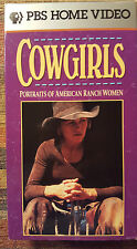 American Cowboy Collection - Cowgirls (VHS, 1992)