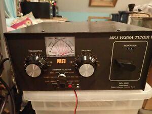 MFJ 989D Versa Tuner V  Legal Limit Roller Inductor Antenna Tuner