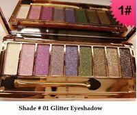 9 Diamond Urban Colours Makeup Glitter Eye-shadow Pallete Shade 01 Eyeshadow-UK