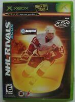 NHL RIVALS 2004 HOCKEY XBOX MICROSOFT GAME  *