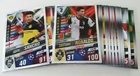 2020 UEFA Champions League 20 Soccer Cards inc 2 Shiny Match Attax 101