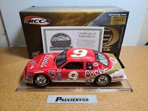 1985 Bill Elliott #9 Coors Ford Thunderbird RCCA Elite 1:24 NASCAR Action MIB