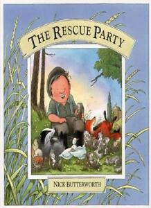 Percy the Park Keeper - The Rescue Party By Nick Butterworth. 9780001938205