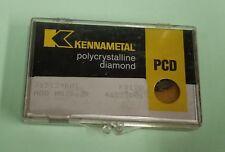 1 Pcs KENNAMETAL EDCT10T308PDFR-PCD Grade KD1410 Carbide Inserts