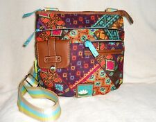LILLY BLOOM CAMILLA MULTI-COLORED CROSS BODY/SHOULDER BAG, USED ONCE, BEAUTIFUL!