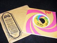 Sunshine Pop Bubble Gum UNI 45 rpm LOVE COUNTRY Patrick & Paul w UNI Mailer RARE