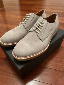 Gordon Rush Heath Buck Derby Sz 12 Grey Mens Dress Shoe NIB
