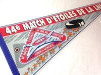 """Vintage 1993 NHL Hockey 44th All Star game Montreal Pennant Full Size 30"""""""