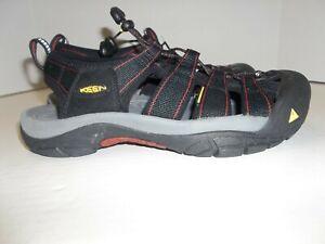 Womens Size 9 Keen Black Sport Sandals