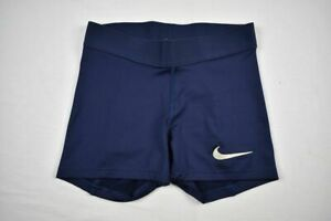 Nike Compression Shorts Women's Navy Poly NEW Multiple Sizes