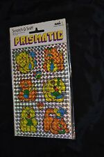 Vtg 80's MARK 1 PRISMATIC SCRATCH & SNIFF Stickers KITTENS CATS 3M MOUSE MICE