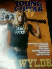 Young guitar extra number 9 Zakk Wylde guitar tab book and CD