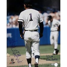 1970s NY Yankees Greats Signed 16x20 Photo of Billy Martin - Steiner Sports